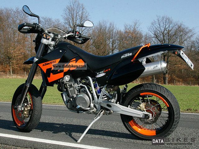 ktm ktm lc4 640 supermoto moto zombdrive com. Black Bedroom Furniture Sets. Home Design Ideas