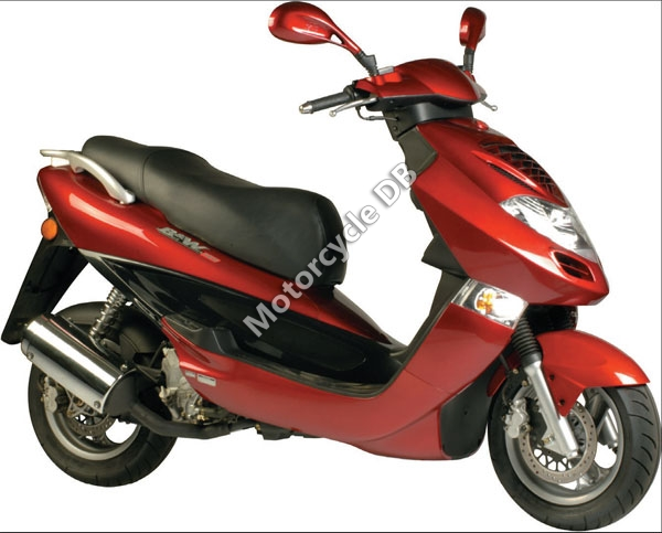 Kymco Bet and Win 125 2007 #1