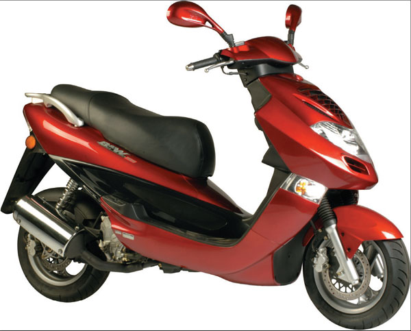 Kymco Dink / Yager 150 2005 #8