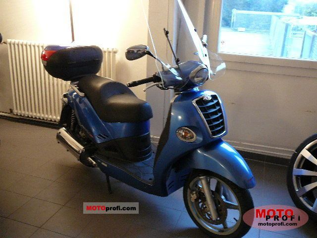 Kymco People S 50 4T 2006 #11