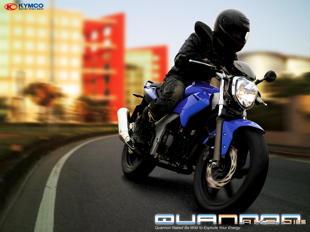 Kymco Quannon Naked 125 2010 #11
