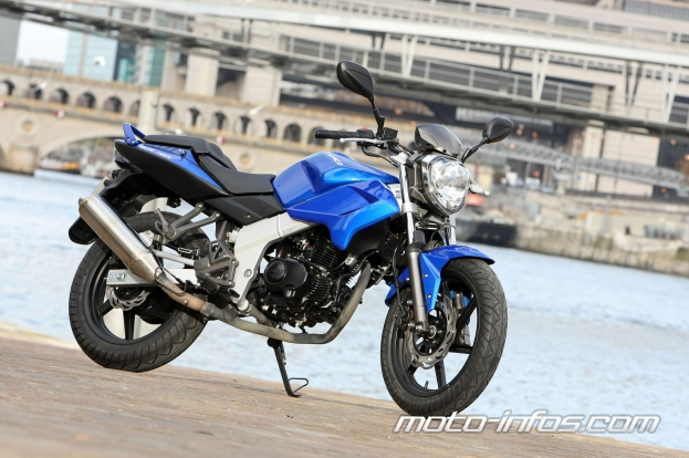 Kymco Quannon Naked 125 2010 #6