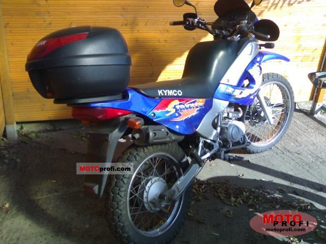 Kymco Stryker (on road) #5