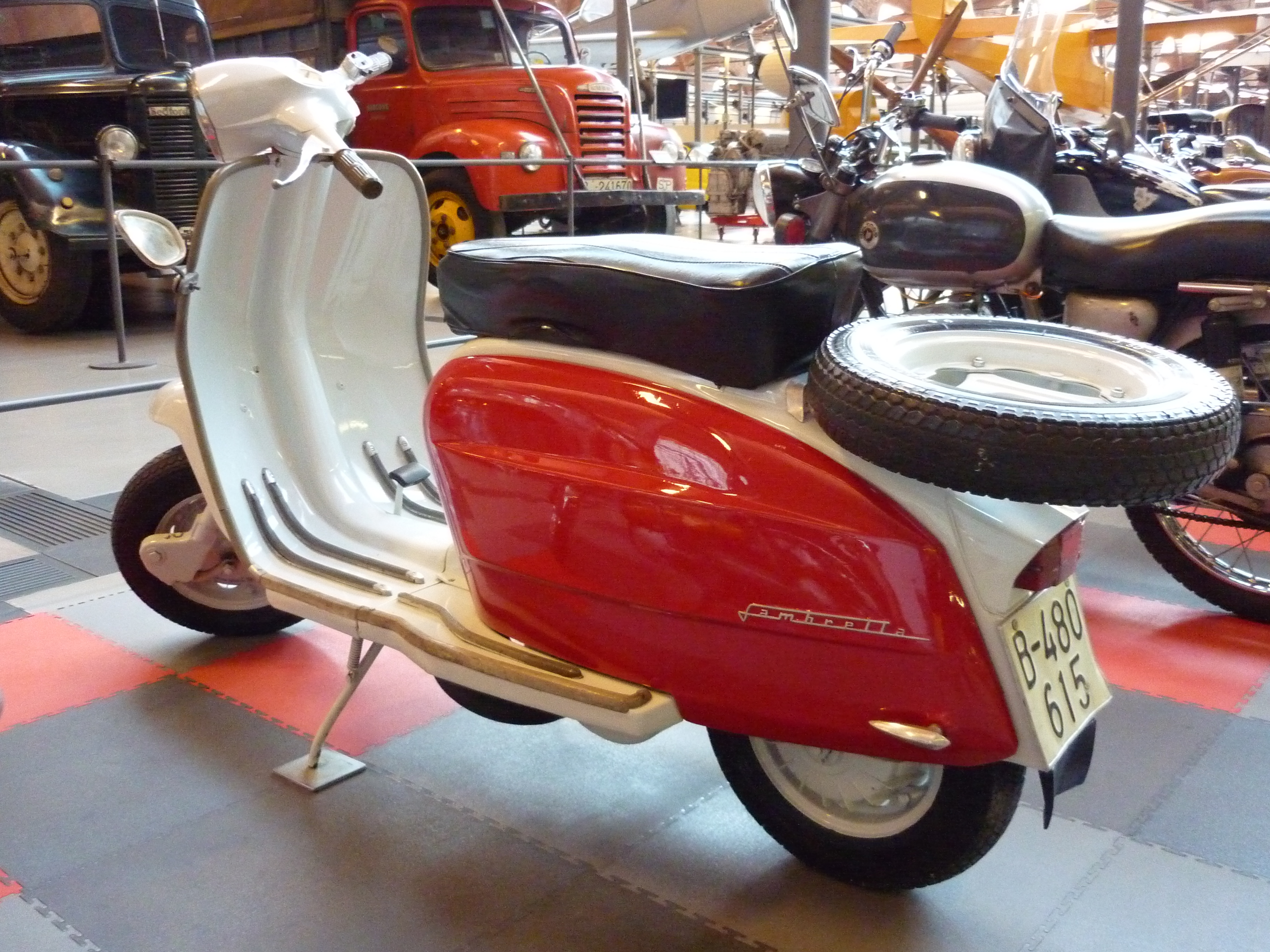 Lambretta Scooter #7