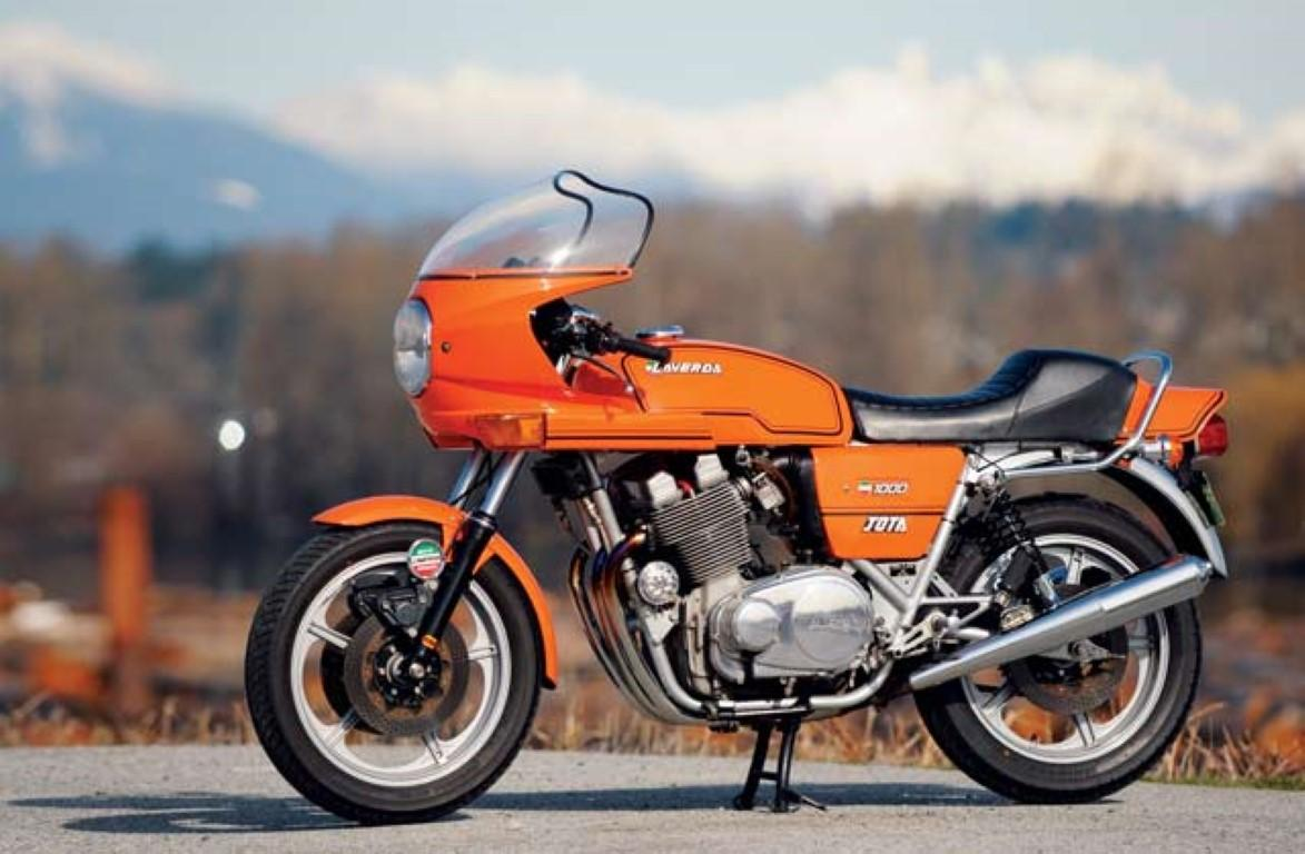 Laverda 1000 Jota still holding the world popularity #12