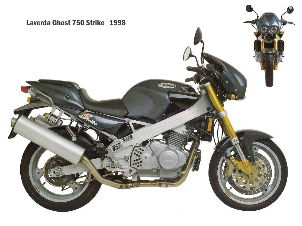 Laverda 750 Ghost Strike #1