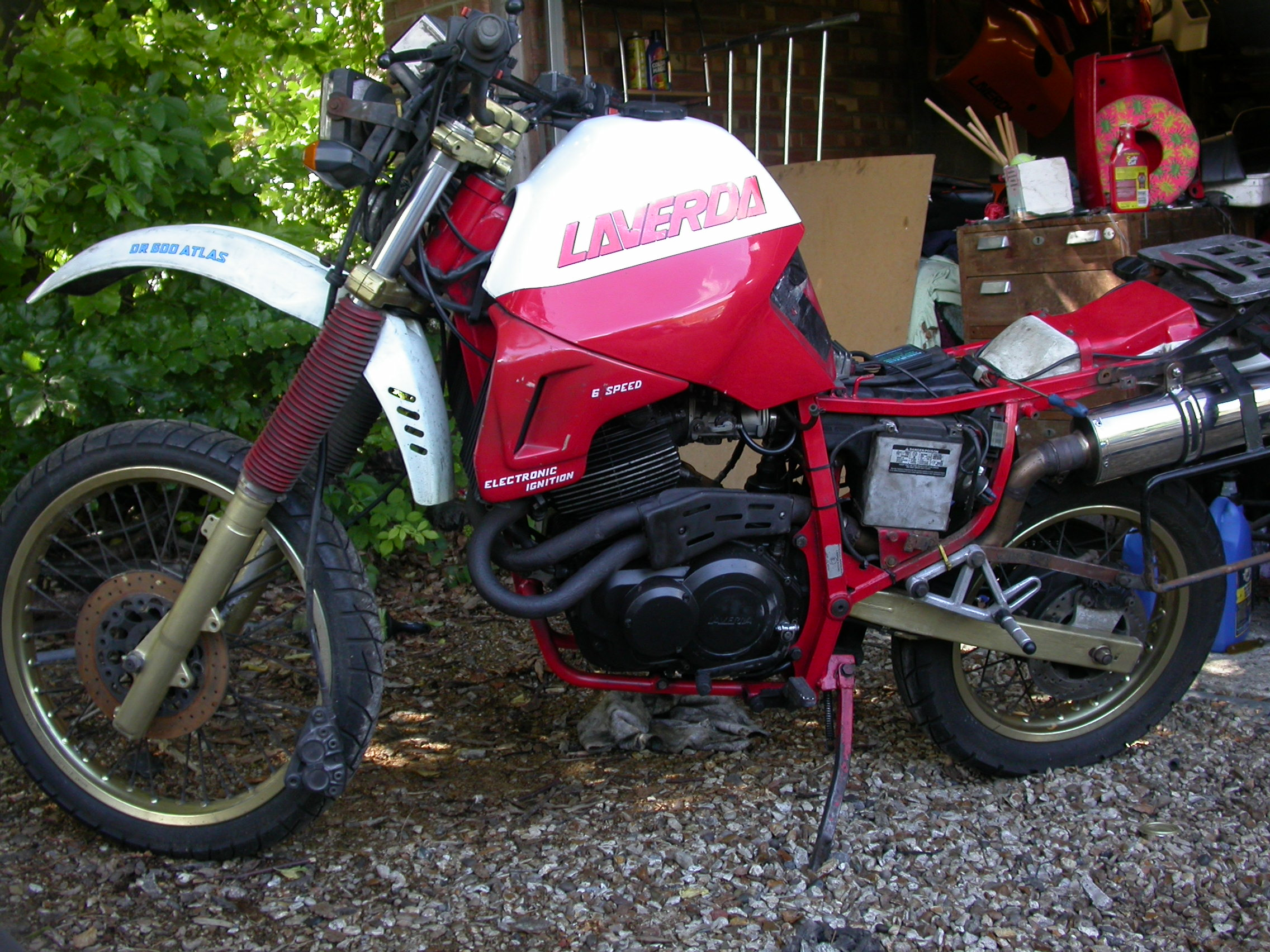 Laverda OR 600 Atlas 1989 #8