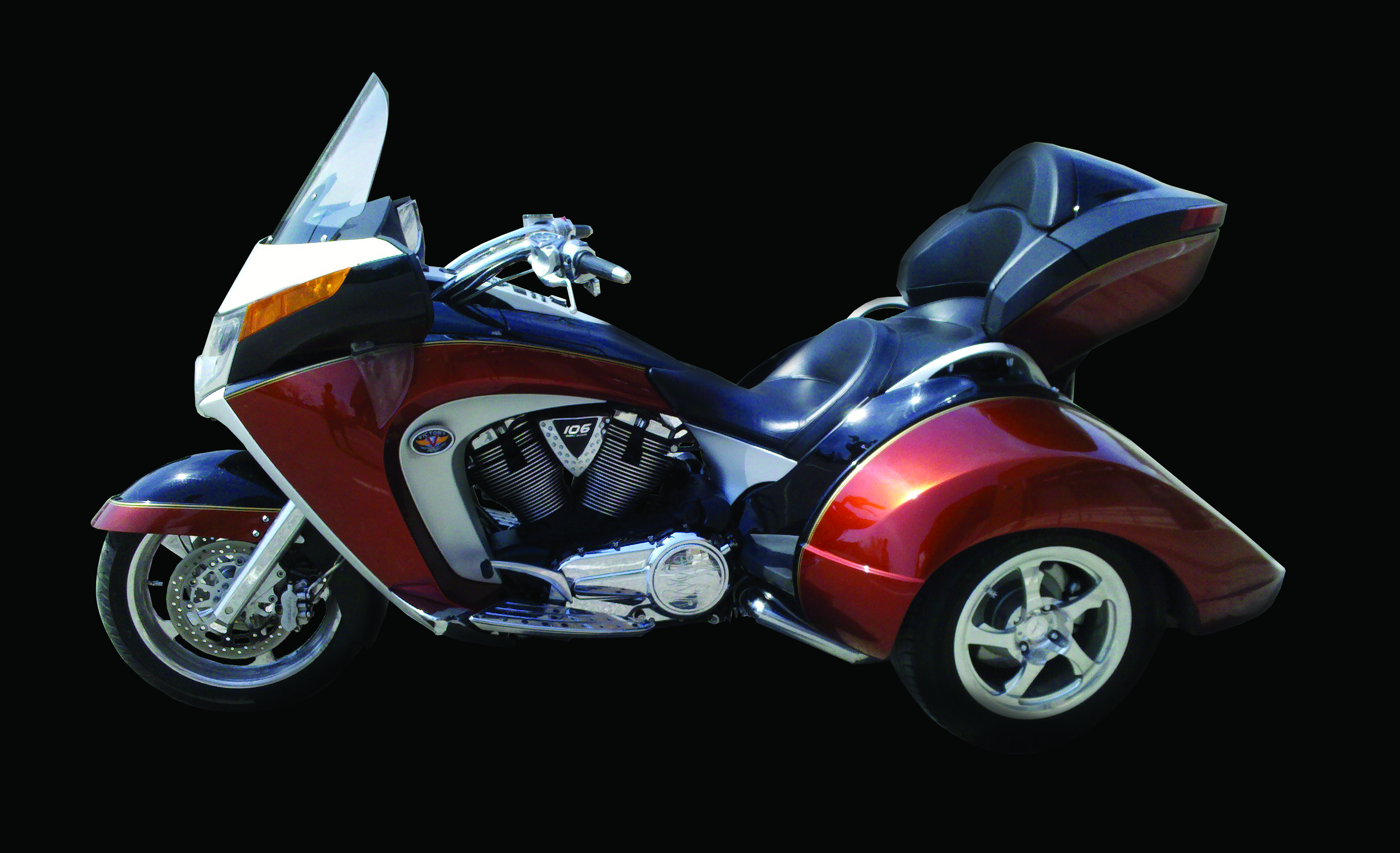 Lehman Trikes Crossbow redefining the concept of luxury touring trike #9