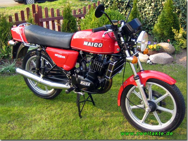 Maico MD 250 WK: Old Bikes Never Go Old #1