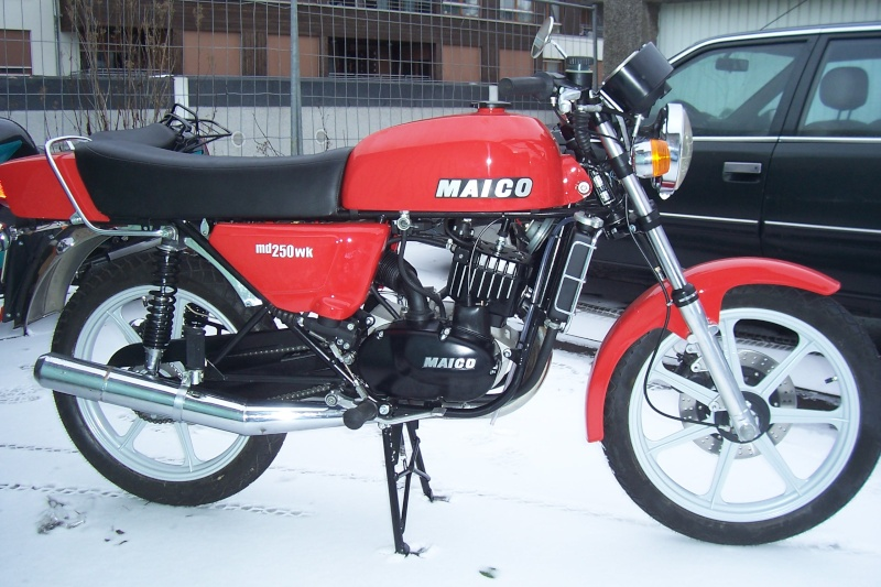 Maico MD 250 WK: Old Bikes Never Go Old #7