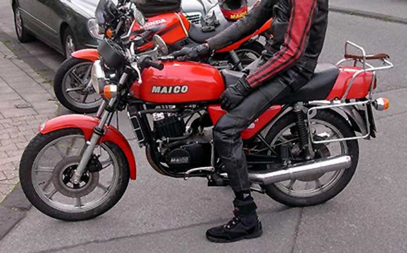 Maico MD 250 WK: Old Bikes Never Go Old #8