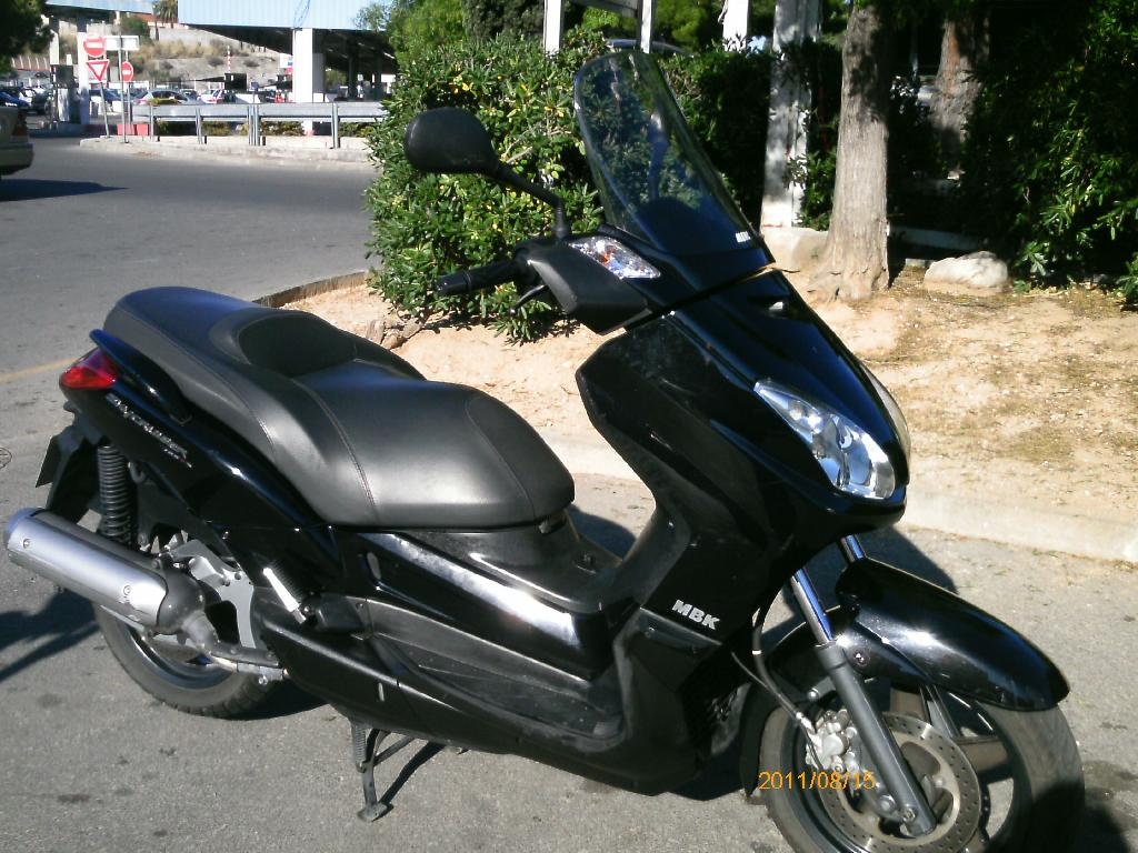 2009 mbk skyliner 125 moto zombdrive com. Black Bedroom Furniture Sets. Home Design Ideas