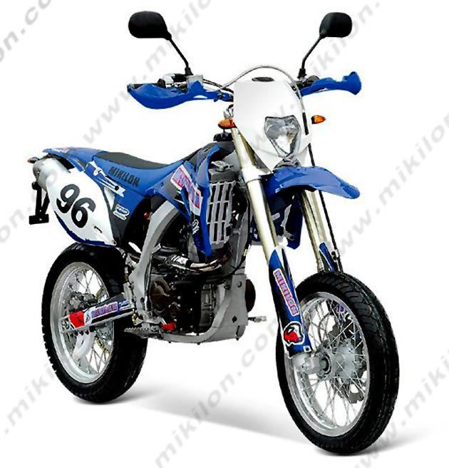 Mikilon CD125A, a bike with a funny brand name #1