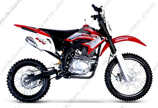 Mikilon CD125A, a bike with a funny brand name #2