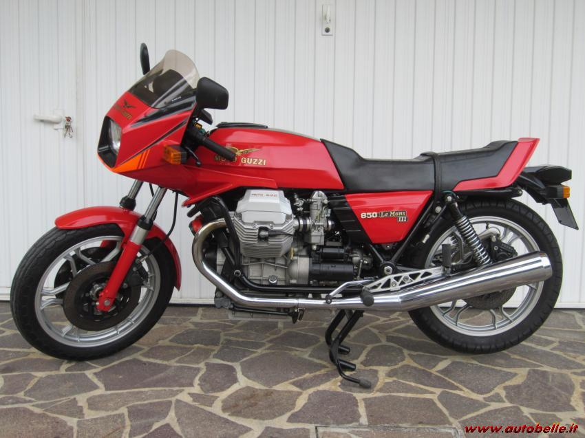 1981 moto guzzi 850 le mans iii moto zombdrive com. Black Bedroom Furniture Sets. Home Design Ideas