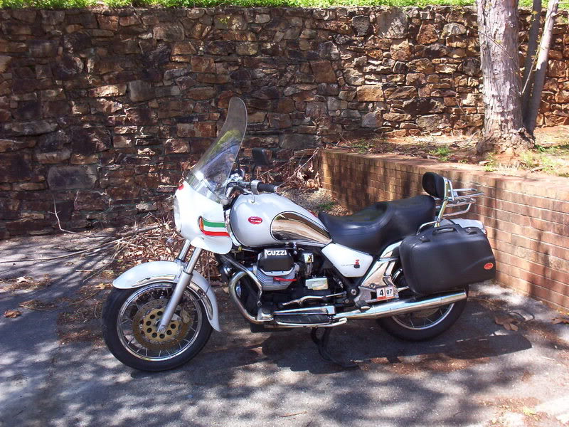Moto Guzzi California EV Touring 2003 #11