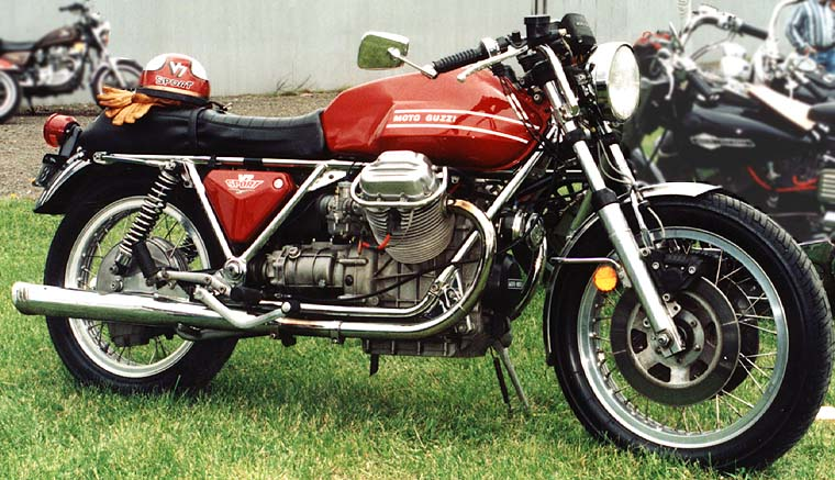Moto Guzzi Mille GT (reduced effect) 1989 #9