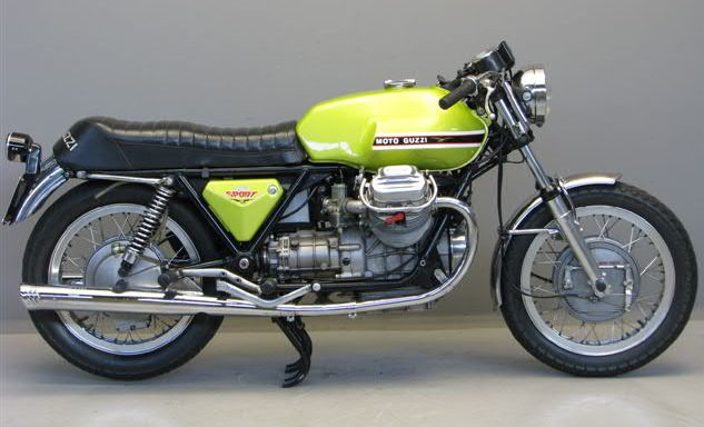 Moto Guzzi Mille GT (reduced effect) 1989 #10