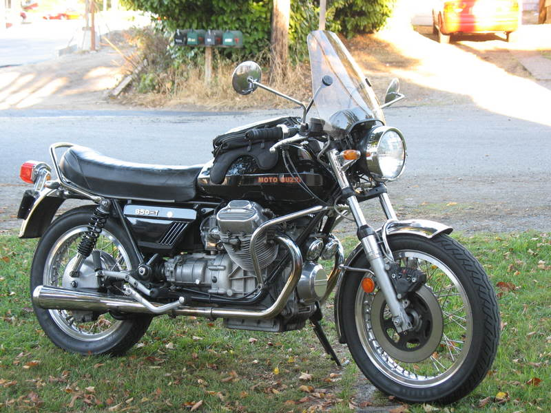 Moto Guzzi Mille GT (reduced effect) 1989 #5