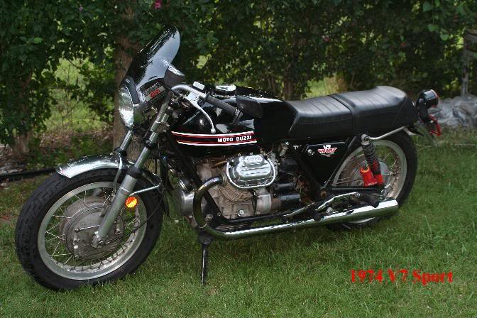 Moto Guzzi Mille GT (reduced effect) 1989 #7