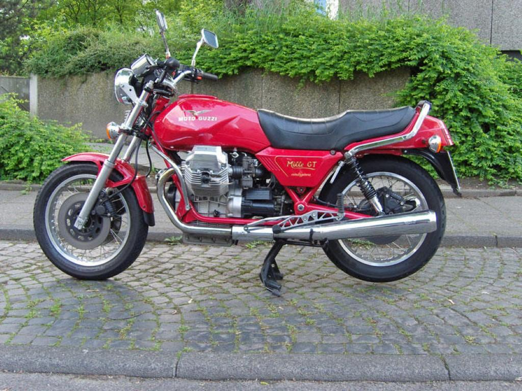 Moto Guzzi Mille GT (reduced effect) 1990 #1
