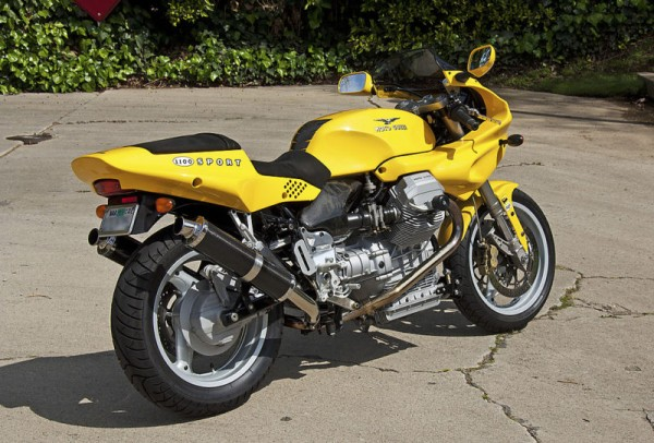 Moto Guzzi Mille GT (reduced effect) 1990 #12