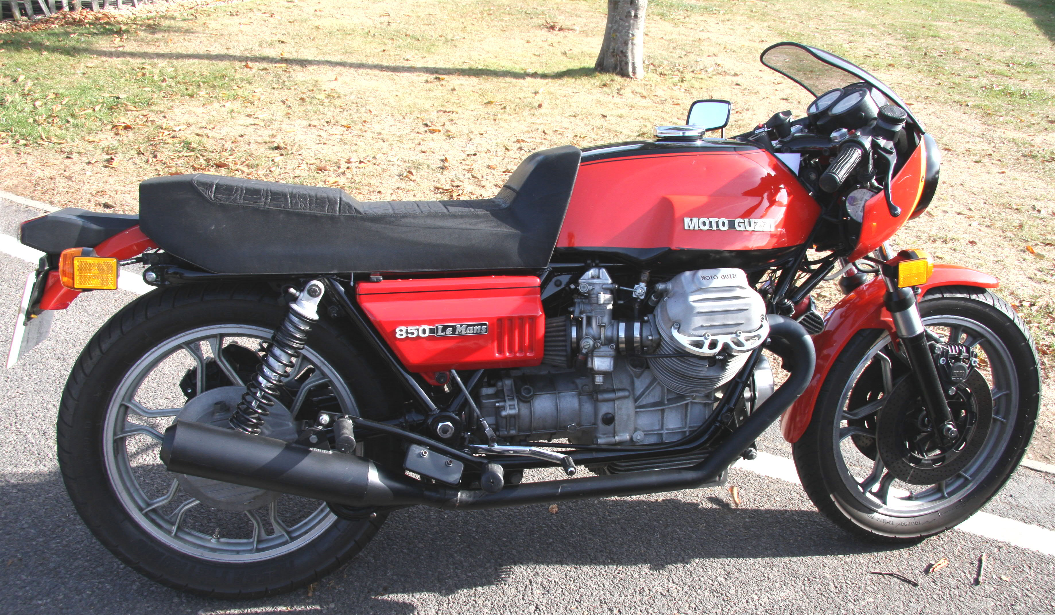 Moto Guzzi Mille GT (reduced effect) 1990 #3