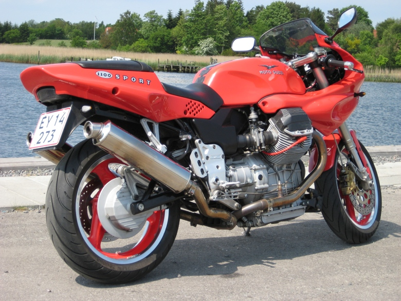 Moto Guzzi Mille GT (reduced effect) 1990 #4