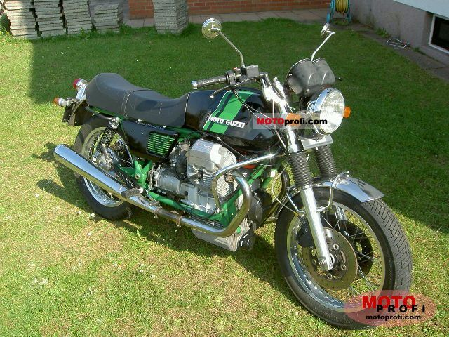 Moto Guzzi Mille GT (reduced effect) #7