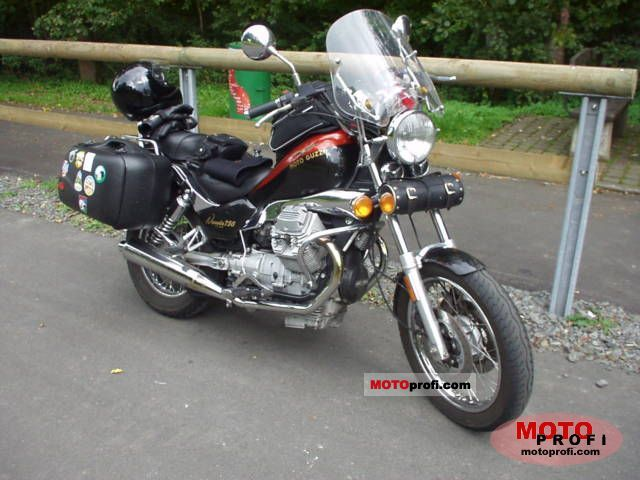 Moto Guzzi Nevada 750 Club 1999 #2