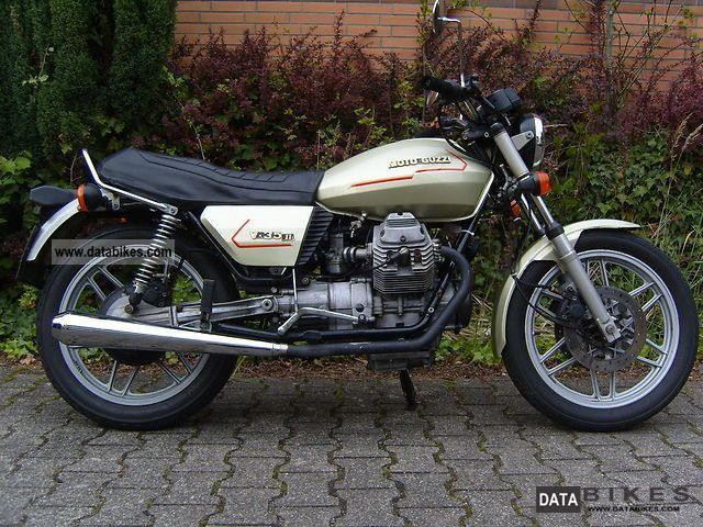1980 moto guzzi v35 ii moto zombdrive com. Black Bedroom Furniture Sets. Home Design Ideas
