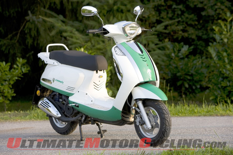 MZ Emmely E-Scooter 2011 #2