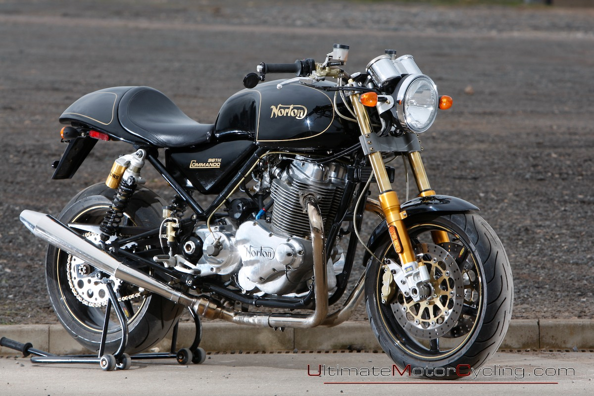 Norton Commando 961 Cafe Racer 2010 #4