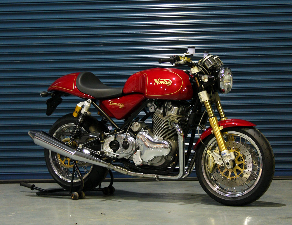 Norton Commando 961 Cafe Racer 2010 #7