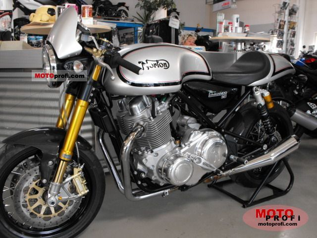 Norton Commando 961 Cafe Racer 2011 #5