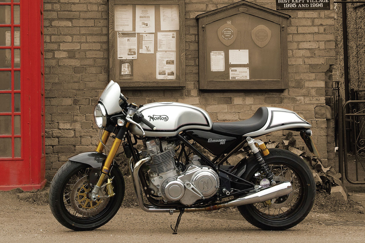 Norton Commando 961 Cafe Racer 2011 #7