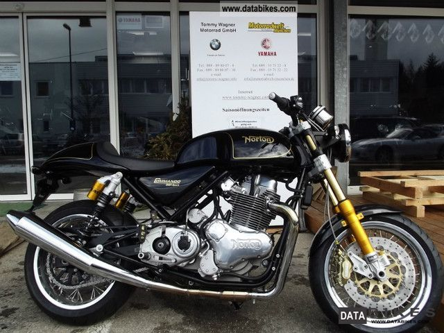 Norton Commando 961 Cafe Racer 2011 #8