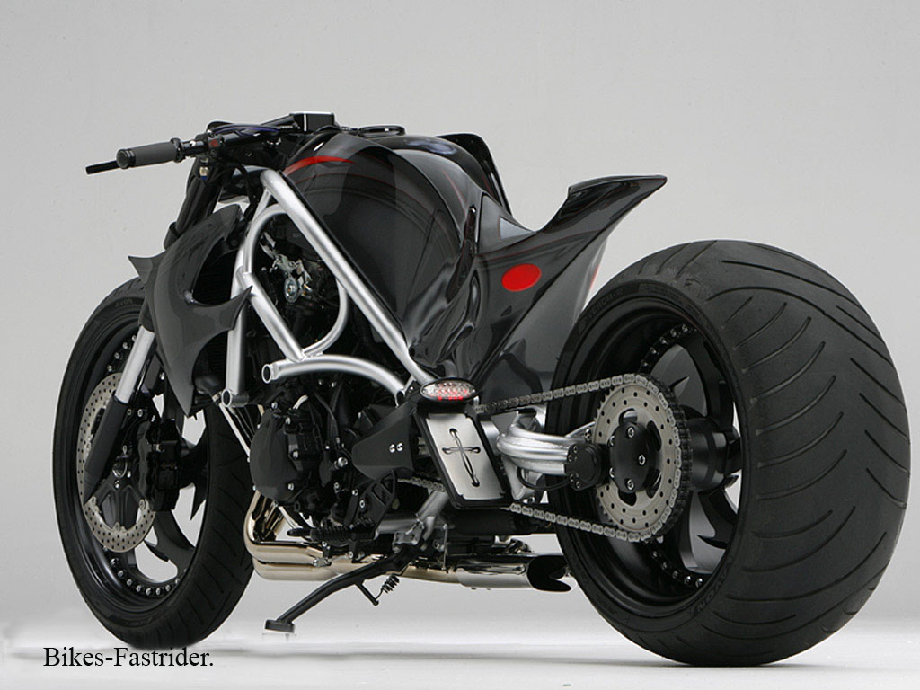 One-off build Motorcycle #6