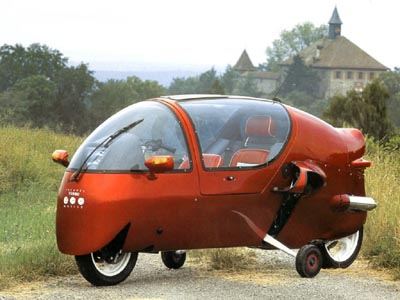 Peraves Ecomobile among the most freaky vehicles of the world #7