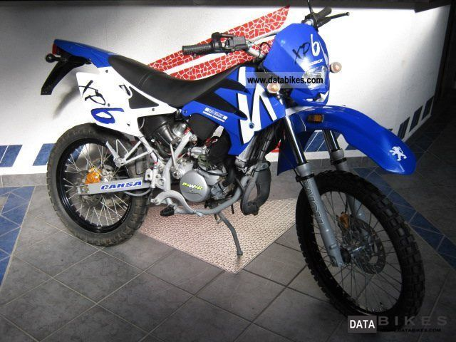Peugeot XP 6 S Supermotard 2003 #8