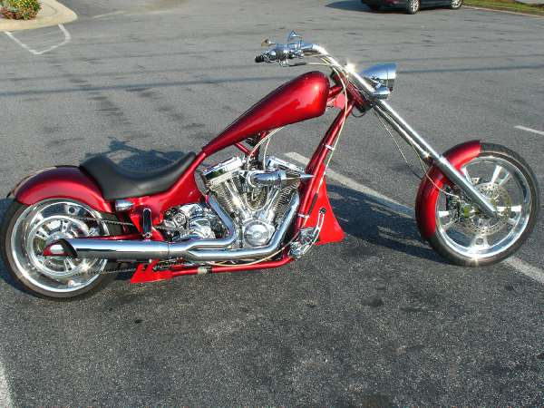 Rucker Performance Gauntlet Chopper 2010 #9
