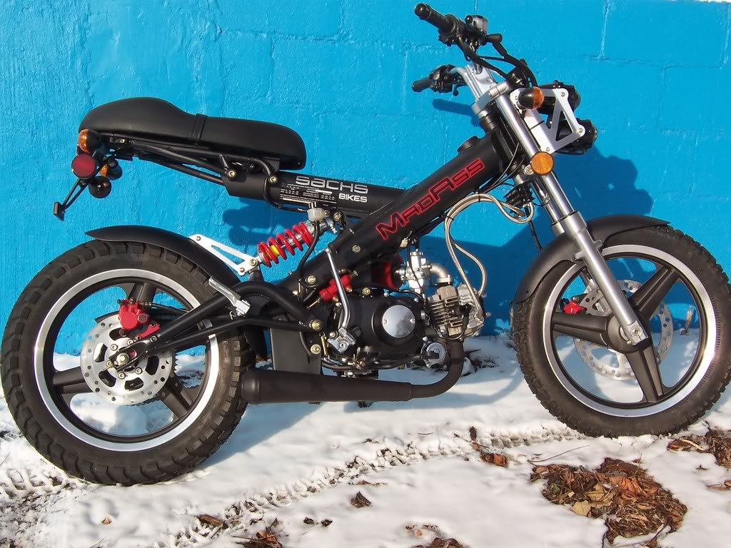2008 sachs madass 125 moto zombdrive com. Black Bedroom Furniture Sets. Home Design Ideas