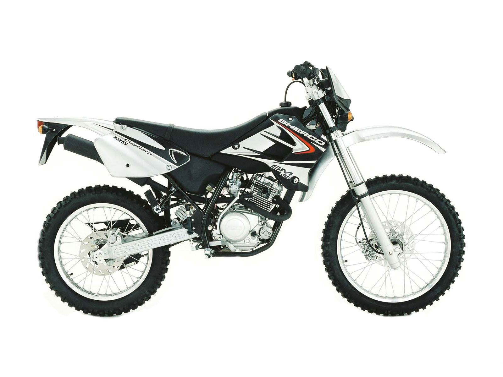Sherco 125 Enduro Shark Replica #9