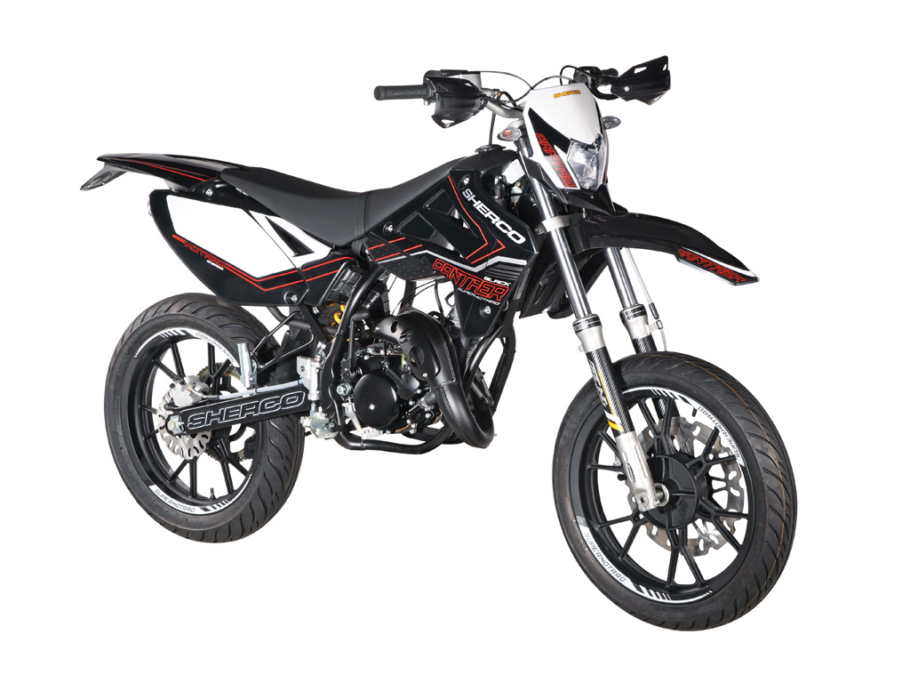 sherco sherco 50cc sm black panther moto zombdrive com. Black Bedroom Furniture Sets. Home Design Ideas