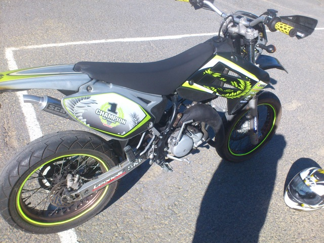 Sherco Shark 50 Supermotard #4