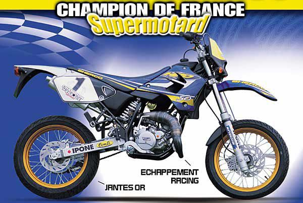 Sherco Shark 50 Supermotard #7