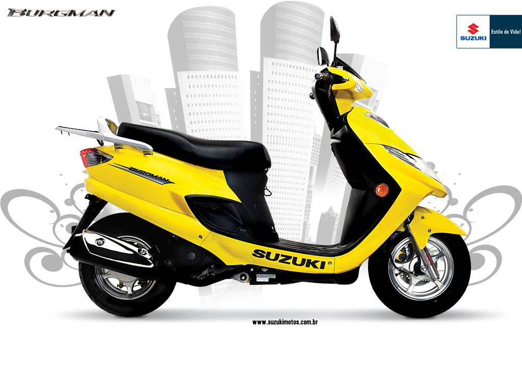 2009 suzuki burgman 125 moto zombdrive com. Black Bedroom Furniture Sets. Home Design Ideas