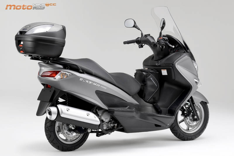 2014 suzuki burgman 125 moto zombdrive com. Black Bedroom Furniture Sets. Home Design Ideas