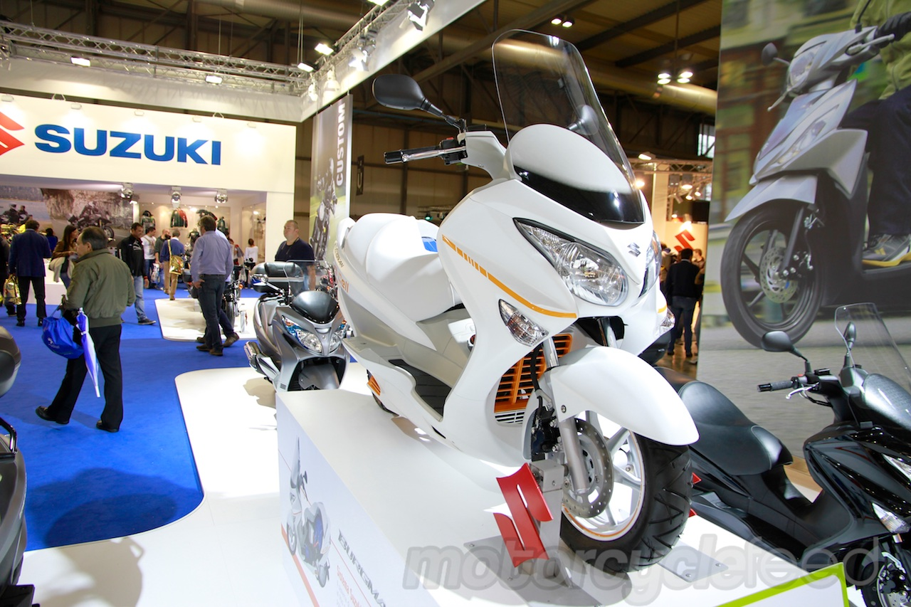 Suzuki Burgman Fuel Cell #10