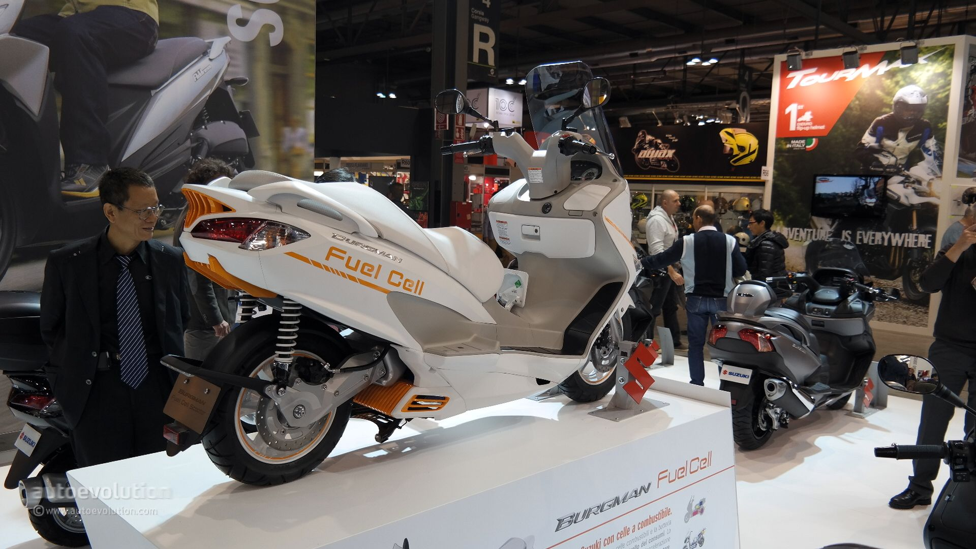 Suzuki Burgman Fuel Cell #11